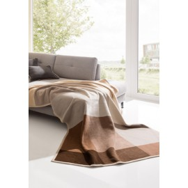 Плед Bocasa Termosoft Top Big Brown 150x200