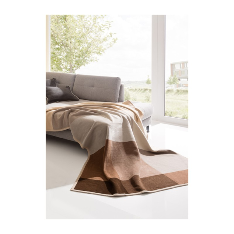 Плед Bocasa Thermosoft Top Big Brown 180x220