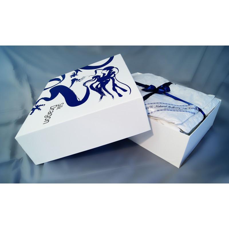 Шелковое одеяло Silk Dragon Comfort евро универсальное